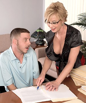 MILF Boss Porn Pictures